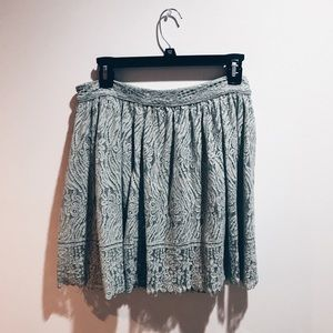 Lacy Green Skirt